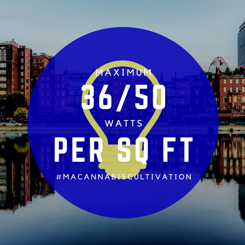 Massachusetts Cannabis Regulators: 36 Watts will be the limit for cannabis cultivators