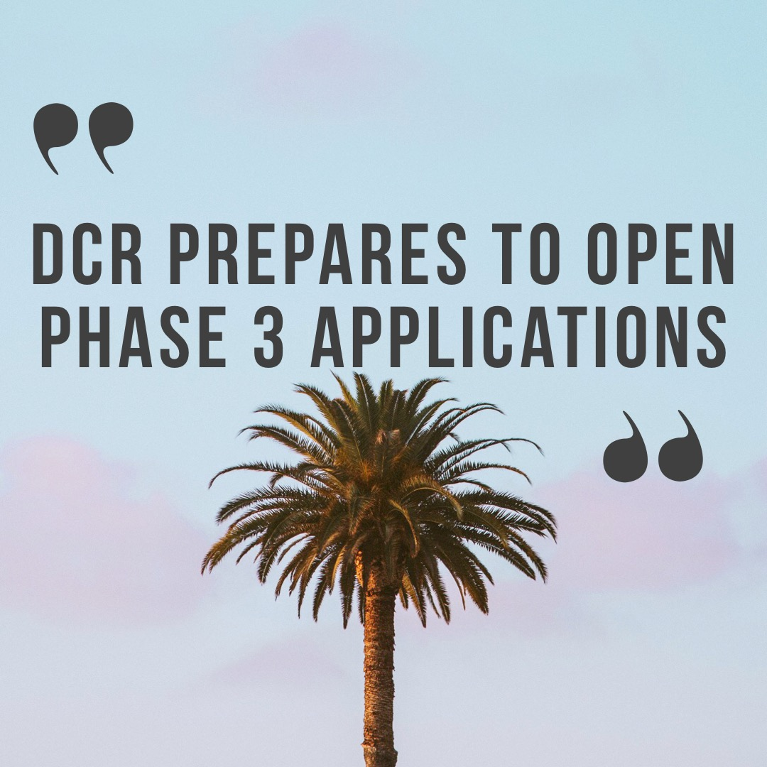 DCR Prepares to Open Phase 3 Applications