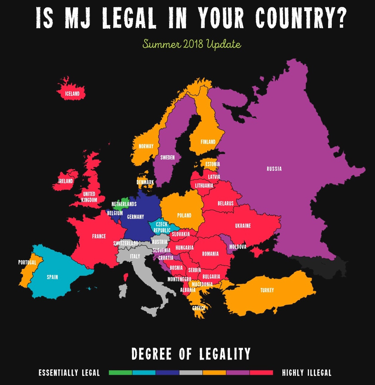 Is Marijuana Legal in Your Country?