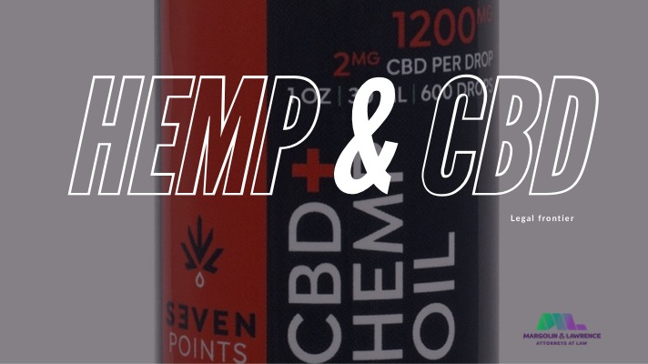 Hemp and CBD updates