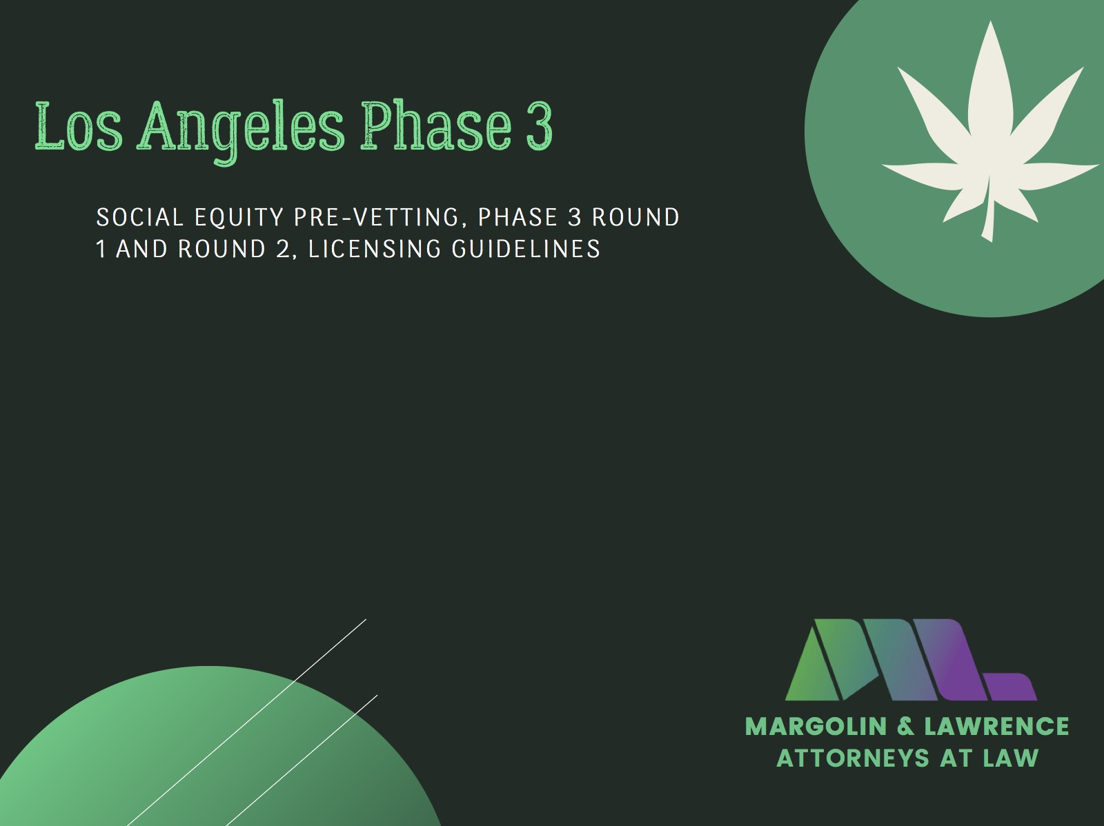 Everything You Need to Know About Los Angeles Phase 3 Licensing