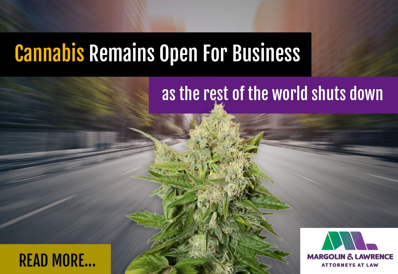 Cannabis Remains Open for Business as the Rest of the World Shuts Down