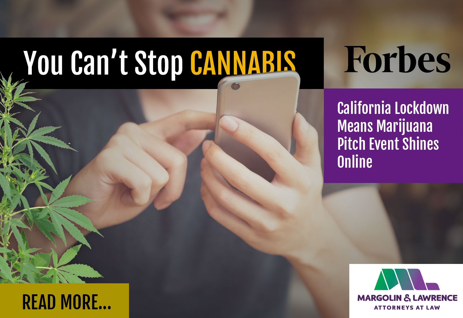 You Can't Stop Cannabis: California Lockdown Means Marijuana Pitch Event Shines Online