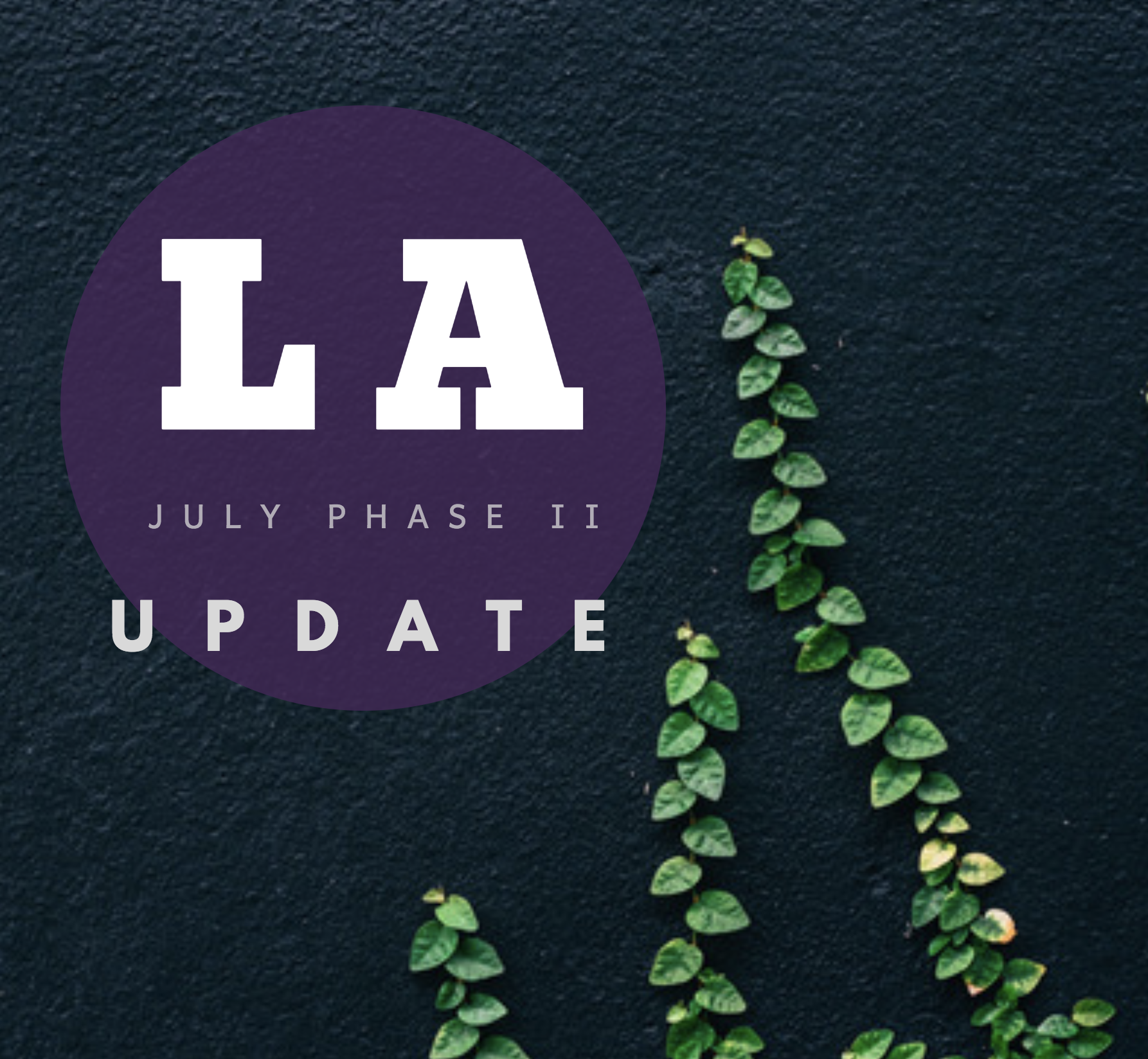 July 1st Deadline Update