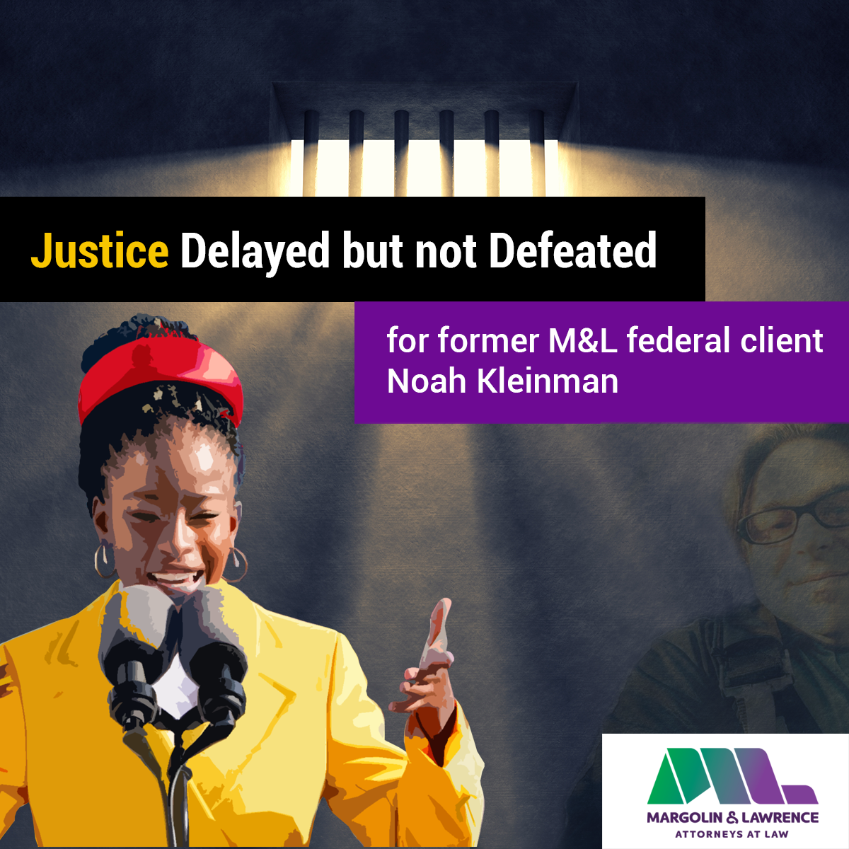 Justice 'delayed but not defeated' for former M&L federal client Noah Kleinman