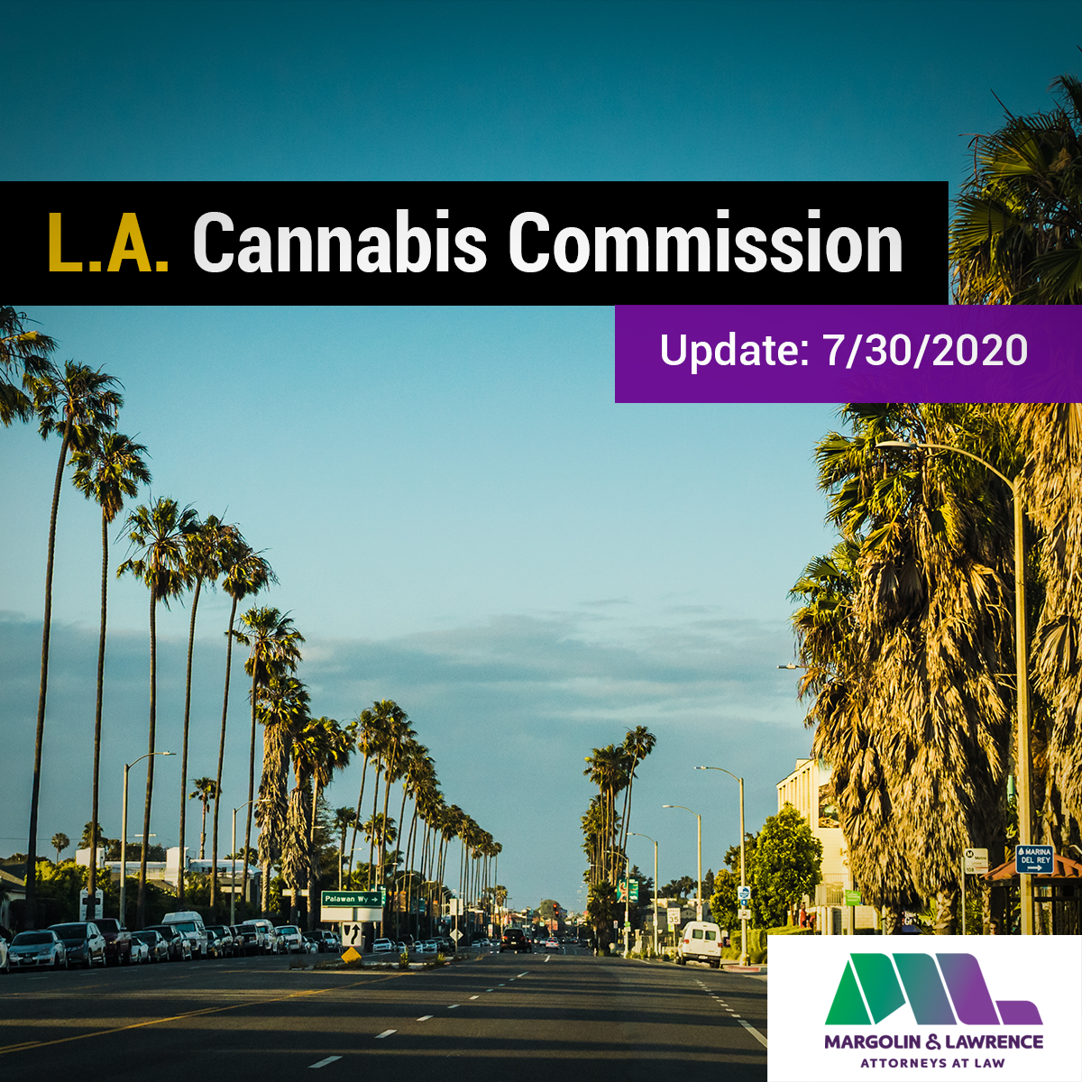 L.A. Cannabis Commission Update: 7/30/2020